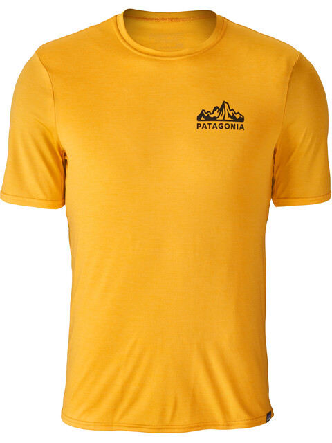 Patagonia Capilene Daily Shortsleeve Shirt Men yellow